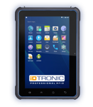 Press Release: iDTRONIC's C4 Tablet L - Performance in Greater Dimension: Mobile Data Collection  made easy with optional RFID & Barcode Reader