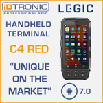 Press Release: iDTRONIC's Handheld Computer: C4 Red - World Innovation: First mobile Android 7.0 Reader with LEGIC Functionality